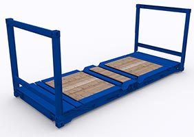 flat-container